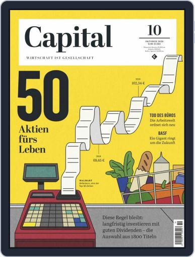 Capital Germany Magazine (Digital) October 1st, 2020 Issue Cover