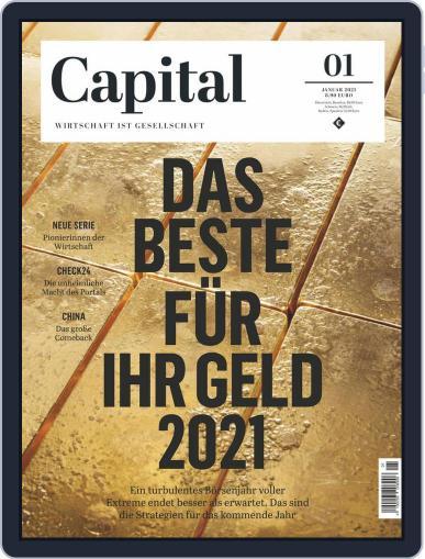 Capital Germany Magazine (Digital) January 1st, 2021 Issue Cover