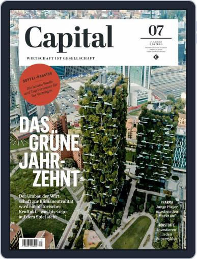 Capital Germany Magazine (Digital) July 1st, 2021 Issue Cover