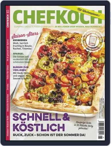 Chefkoch Magazine (Digital) June 1st, 2021 Issue Cover