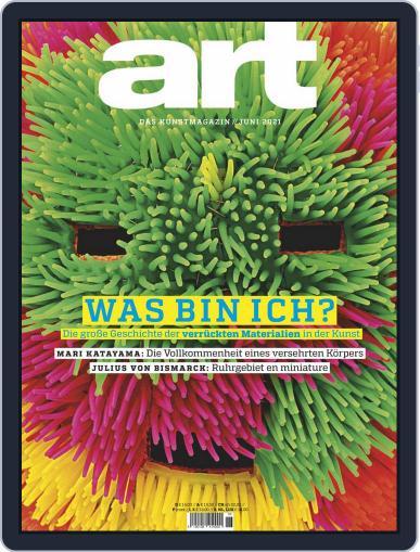 art Magazin Magazine (Digital) June 1st, 2021 Issue Cover
