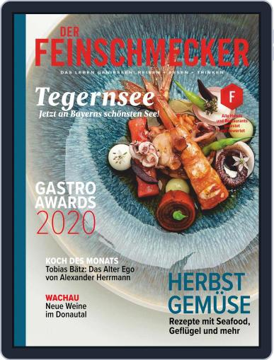 DER FEINSCHMECKER Magazine (Digital) October 1st, 2020 Issue Cover
