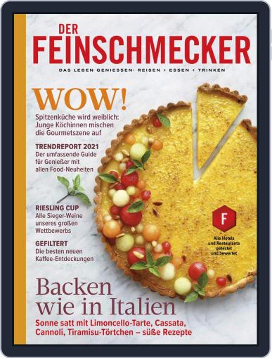 DER FEINSCHMECKER Magazine (Digital) April 1st, 2021 Issue Cover