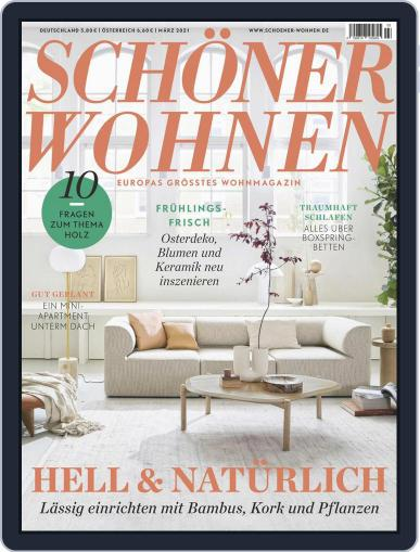 Schöner Wohnen Magazine (Digital) March 1st, 2021 Issue Cover