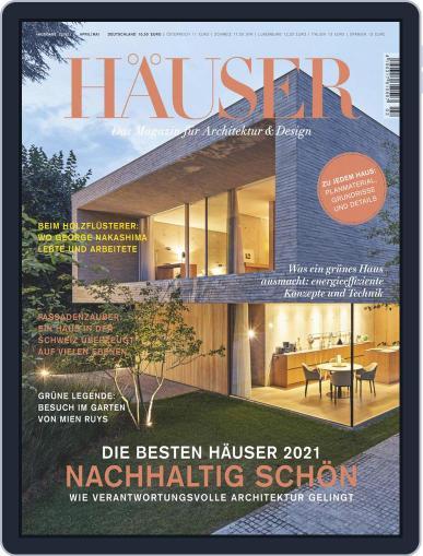 Häuser Magazine (Digital) April 1st, 2021 Issue Cover