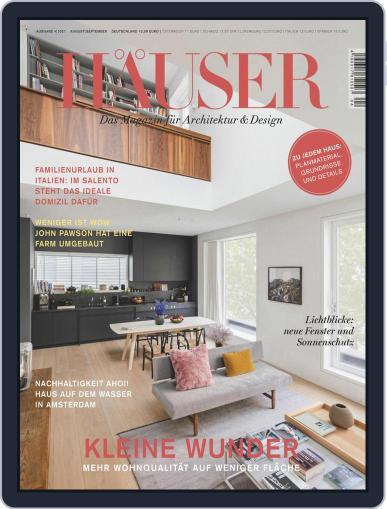 Häuser Magazine (Digital) August 1st, 2021 Issue Cover