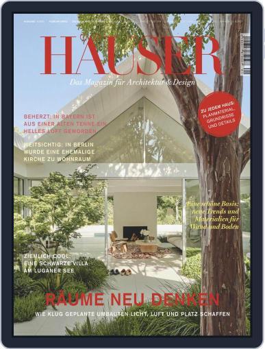 Häuser Magazine (Digital) January 1st, 2021 Issue Cover