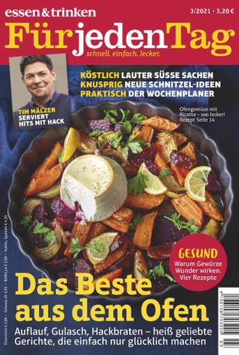 essen&trinken für jeden Tag Magazine (Digital) March 1st, 2021 Issue Cover