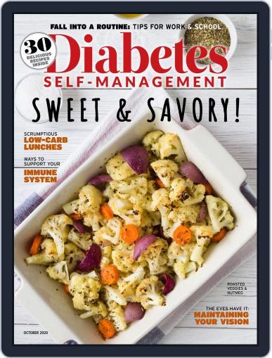 Diabetes Self-Management Magazine (Digital) September 1st, 2020 Issue Cover