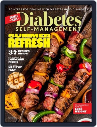 Diabetes Self-Management Magazine (Digital) April 12th, 2021 Issue Cover