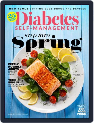 Diabetes Self-Management Magazine (Digital) January 4th, 2021 Issue Cover