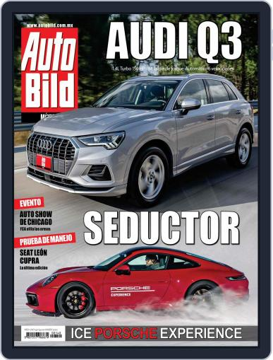 Auto Bild México Magazine (Digital) March 1st, 2020 Issue Cover