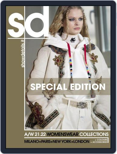 SHOWDETAILS MILANO+NEW YORK Magazine (Digital) April 12th, 2021 Issue Cover