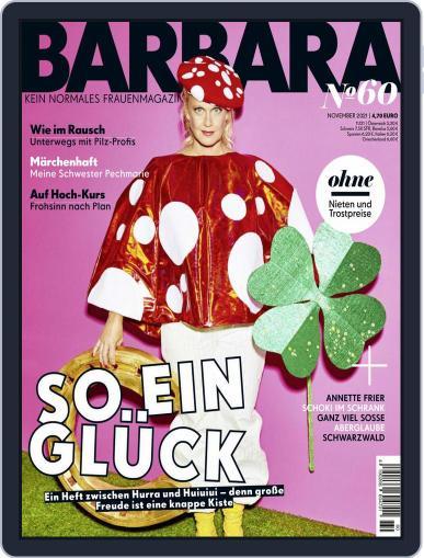 Barbara Magazine (Digital) November 1st, 2021 Issue Cover