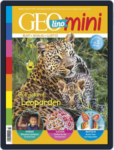 GEOmini Magazine (Digital) March 1st, 2021 Issue Cover