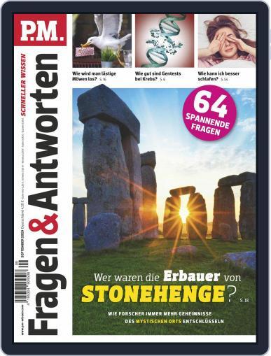 P.M. Fragen & Antworten Magazine (Digital) September 1st, 2020 Issue Cover