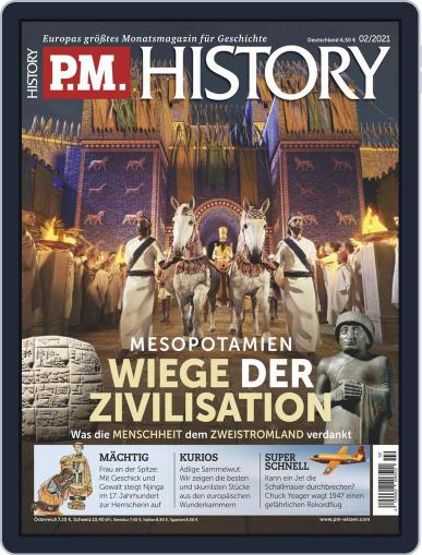P.M. HISTORY Magazine (Digital) February 1st, 2021 Issue Cover