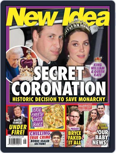 New Idea Magazine (Digital) April 19th, 2021 Issue Cover