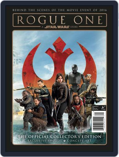 Rogue One Souvenir March 20th, 2017 Digital Back Issue Cover