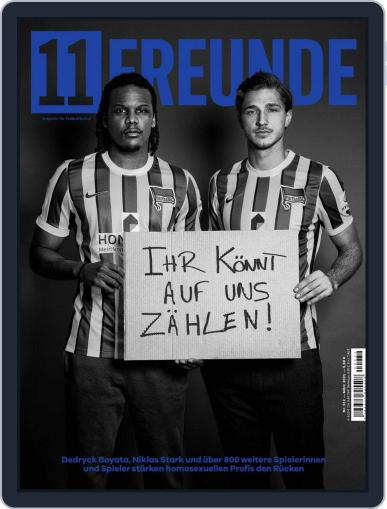 11 Freunde Magazine (Digital) March 1st, 2021 Issue Cover