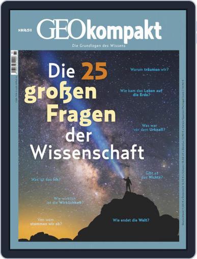 GEOkompakt Magazine (Digital) November 1st, 2020 Issue Cover