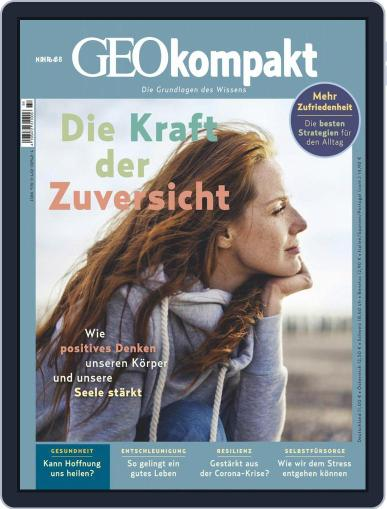 GEOkompakt Magazine (Digital) September 1st, 2020 Issue Cover