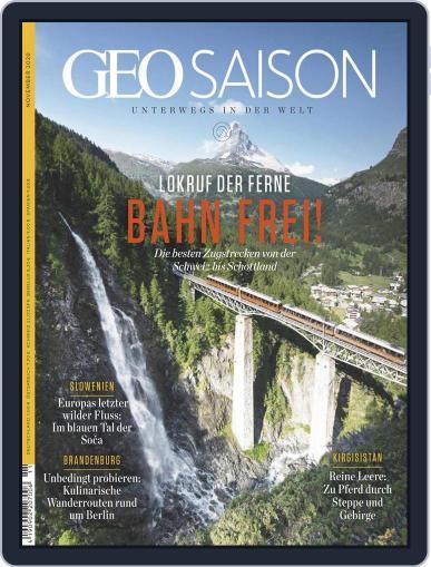 GEO Saison Magazine (Digital) November 1st, 2020 Issue Cover