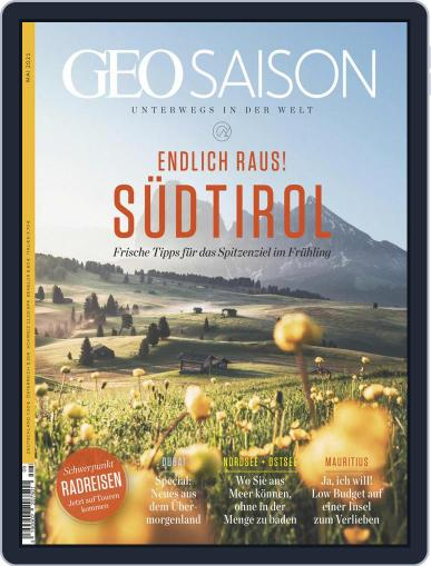 GEO Saison Magazine (Digital) May 1st, 2021 Issue Cover