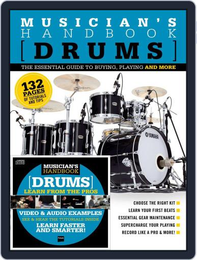 Musician's Handbook: Drums December 1st, 2016 Digital Back Issue Cover