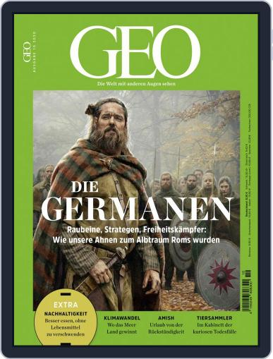 GEO Magazine (Digital) October 1st, 2020 Issue Cover