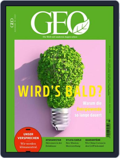 GEO Magazine (Digital) March 1st, 2021 Issue Cover