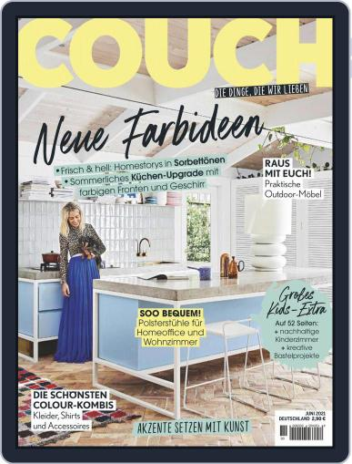 Couch Magazine (Digital) June 1st, 2021 Issue Cover
