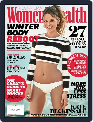 Women's Health Australia (Digital) June 1st, 2020 Issue Cover