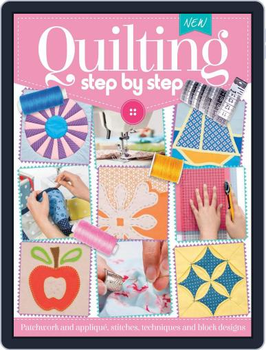 Quilting Step By Step January 16th, 2017 Digital Back Issue Cover