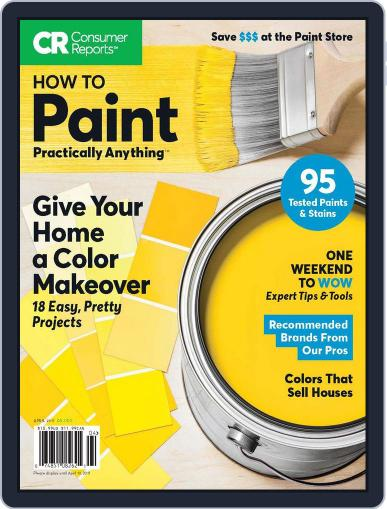 How To Paint Practically Anything Magazine (Digital) April 1st, 2017 Issue Cover