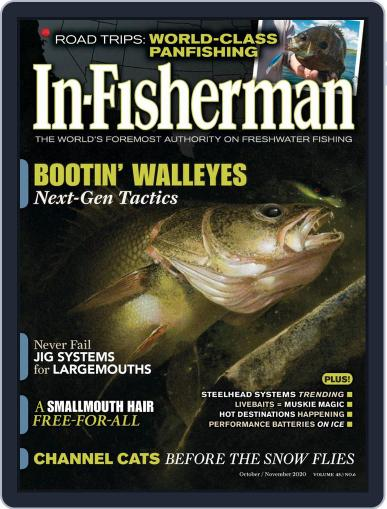 In-Fisherman Magazine (Digital) October 1st, 2020 Issue Cover