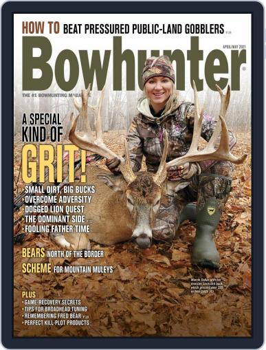 Bowhunter Magazine (Digital) April 1st, 2021 Issue Cover