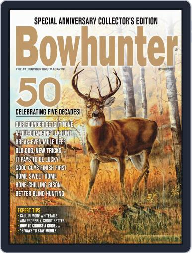 Bowhunter Magazine (Digital) October 1st, 2021 Issue Cover