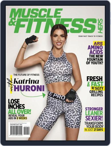 Muscle & Fitness Hers South Africa Magazine (Digital) January 1st, 2021 Issue Cover