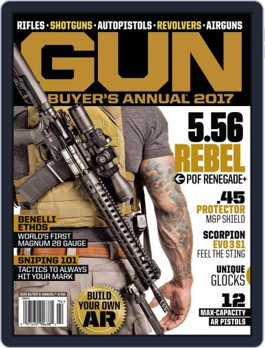 Gun Buyers Annual Magazine (Digital) March 1st, 2017 Issue Cover