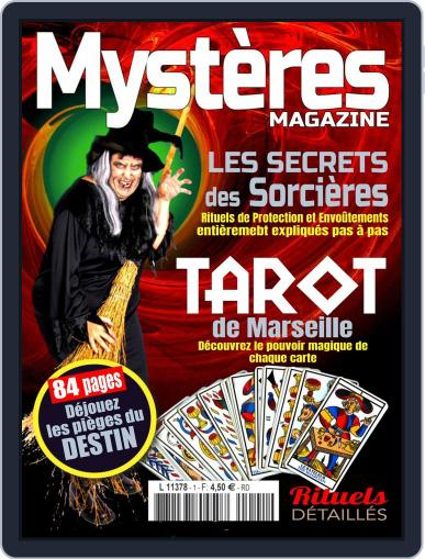 Mystères March 1st, 2017 Digital Back Issue Cover