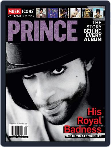 Music Icons: Prince March 1st, 2017 Digital Back Issue Cover
