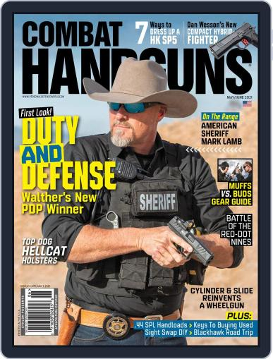 Combat Handguns Magazine (Digital) May 1st, 2021 Issue Cover