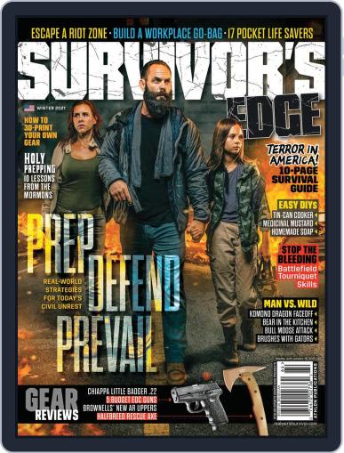 Survivor's Edge (Digital) October 5th, 2021 Issue Cover