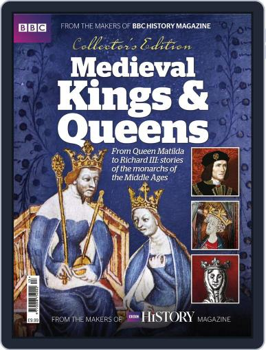 Medieval Kings and Queens February 1st, 2017 Digital Back Issue Cover