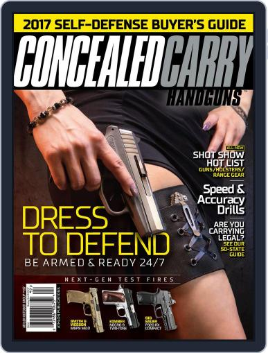 Concealed Carry Handguns March 1st, 2017 Digital Back Issue Cover