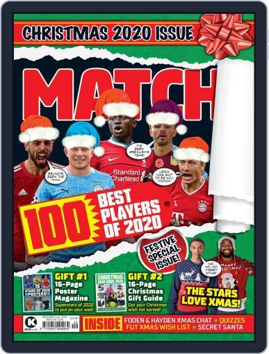 MATCH! Magazine (Digital) December 1st, 2020 Issue Cover