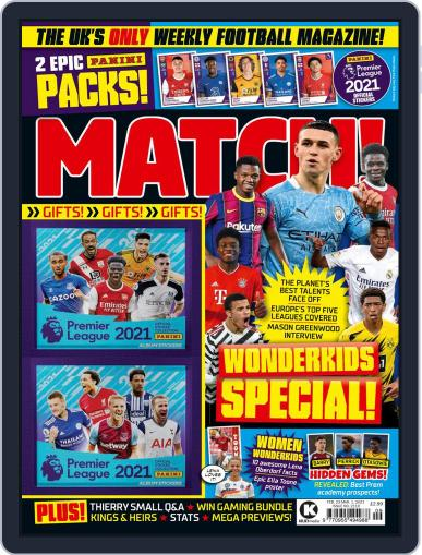 MATCH! Magazine (Digital) February 23rd, 2021 Issue Cover