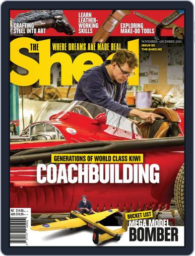 The Shed Magazine (Digital) November 1st, 2020 Issue Cover