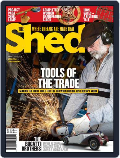 The Shed Magazine (Digital) May 1st, 2021 Issue Cover